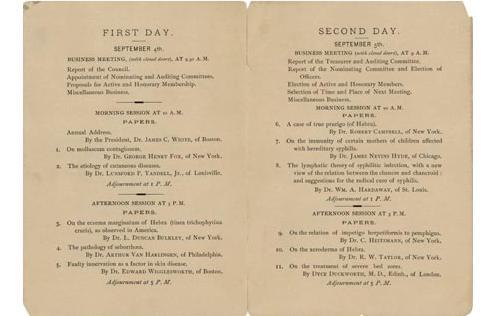 American Dermatological Association History